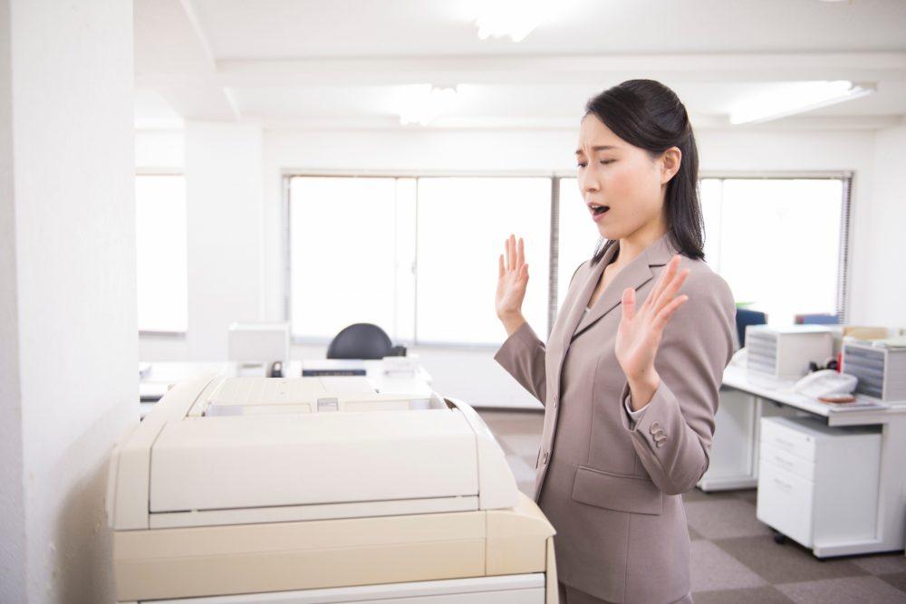 複合機(コピー機)で「印刷できない」原因と対処法