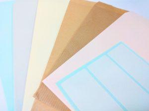 「ラベル用紙」に印刷する方法